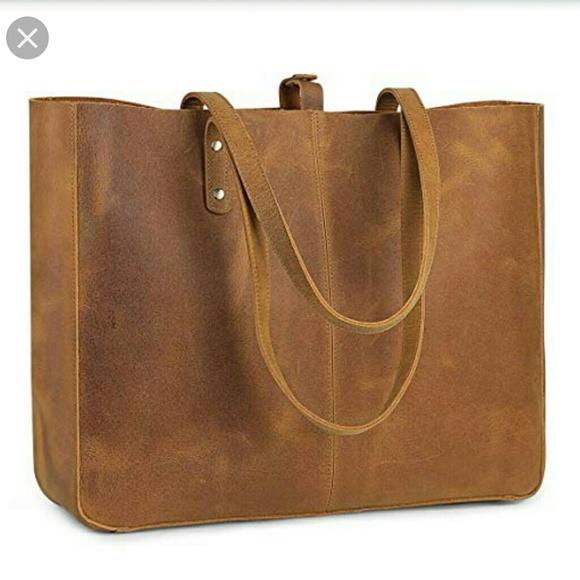 s-zone Handbags - BNWT S-ZONE Genuine Leather Shoulder Bag